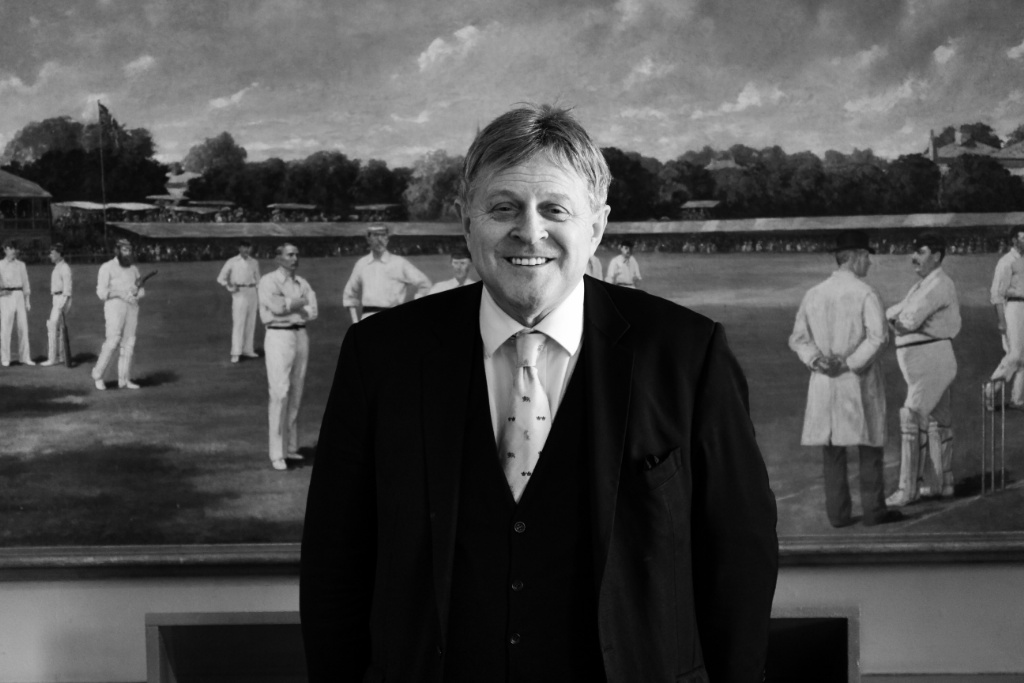 Robert Griffiths QC at Marylebone Cricket Club, The Lords