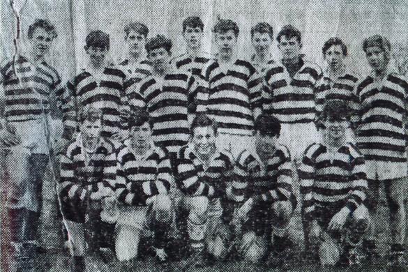 Robert Griffiths QC, childhood, cricket